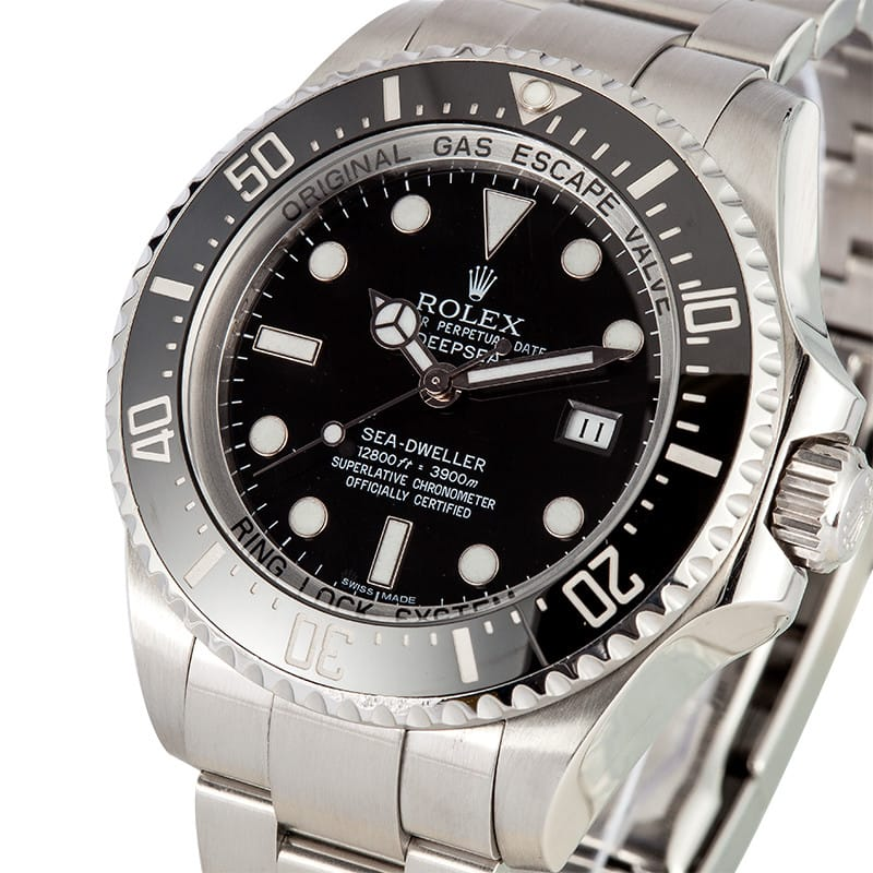 Rolex Deepsea Sea Dweller 116660 Black