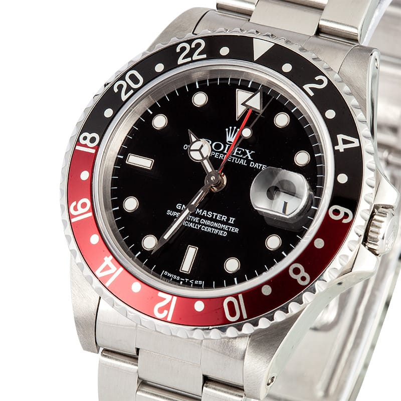 Rolex Gmt Master Ii Stainless Steel Model 16710 Master Ii