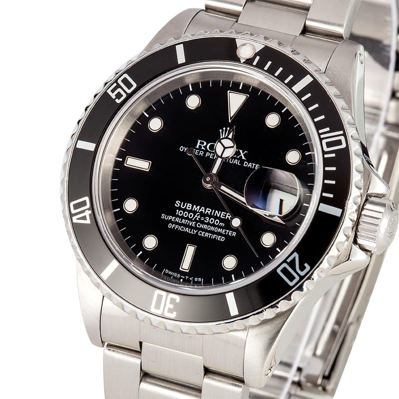 Rolex Submariner 16610 Used - Bob's Watches