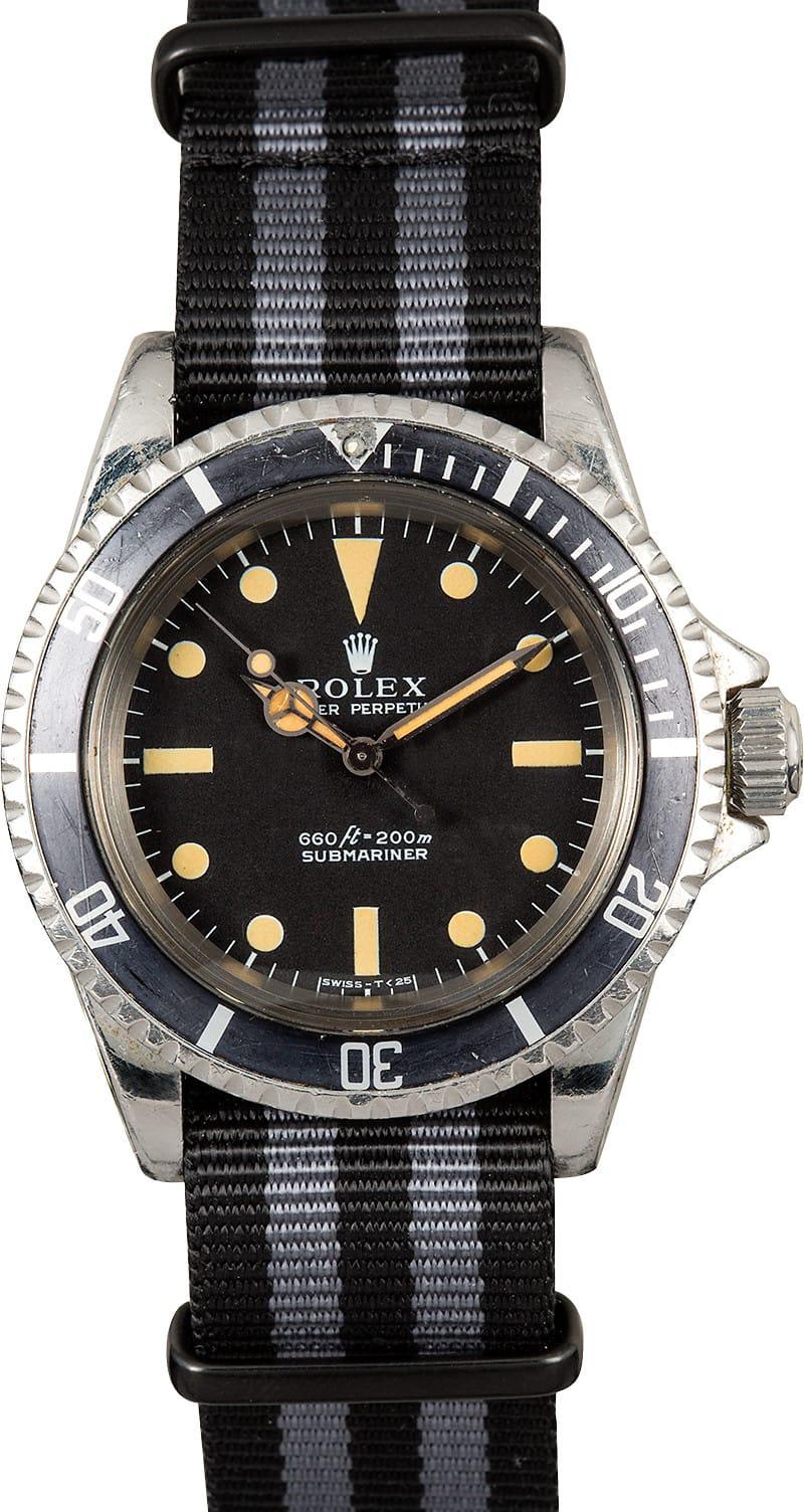 Rolex Submariner Vintage 5513 100% Genuine  Vintage Rolex Submariner