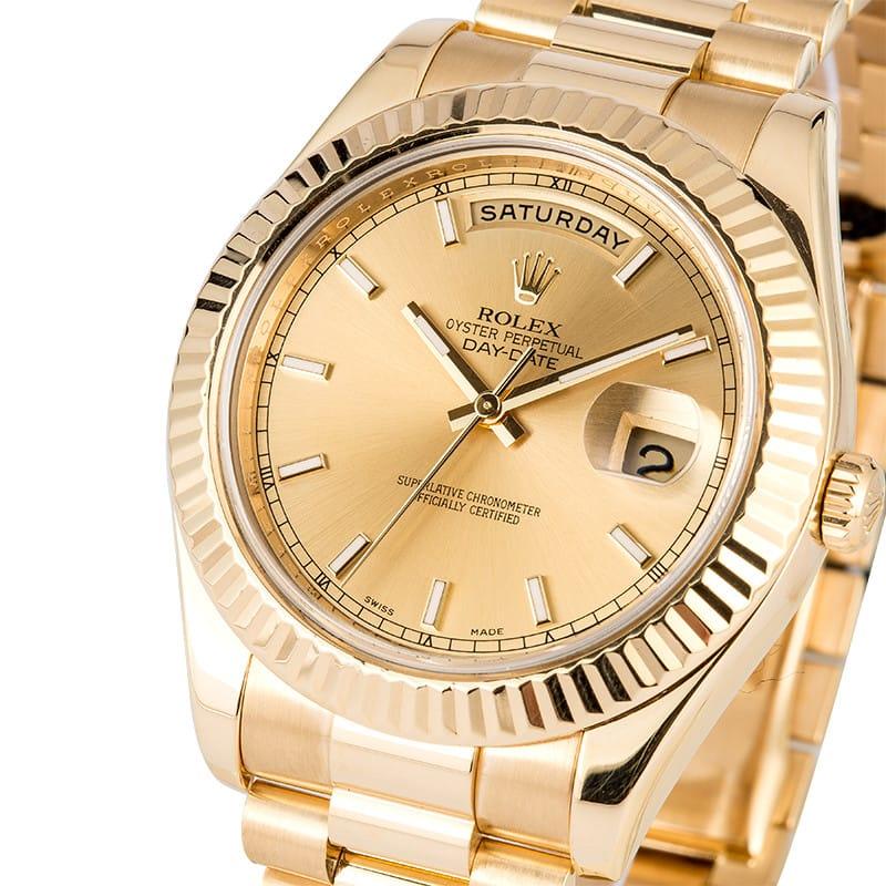 Rolex Day,Date President 218238 41MM