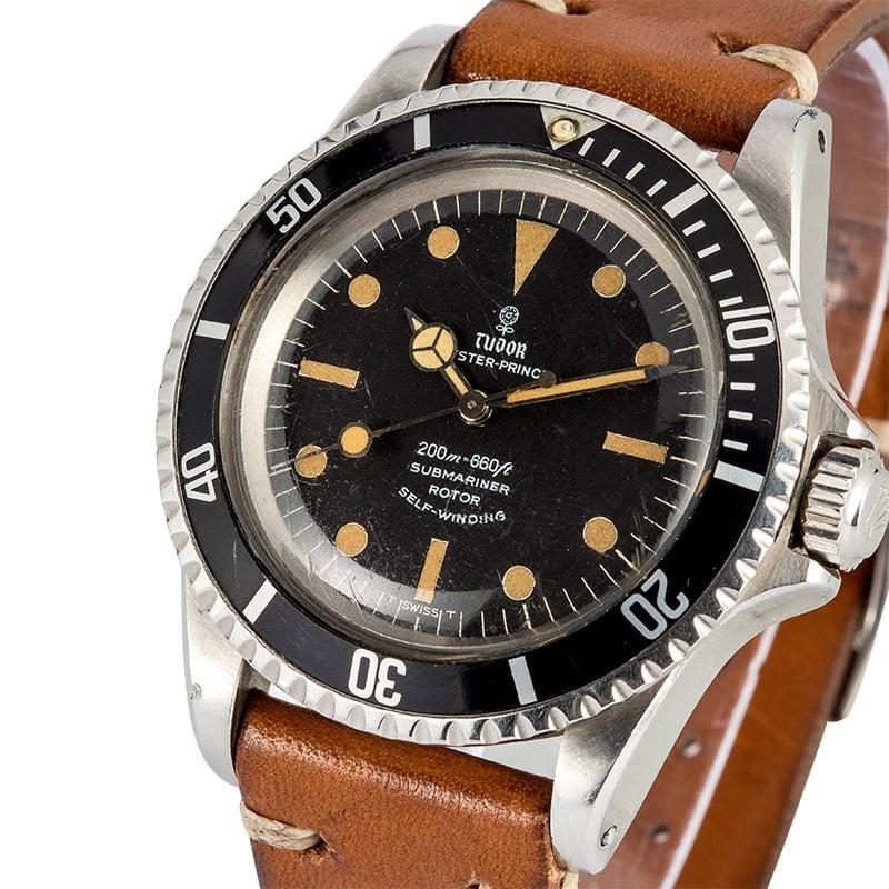 Vintage Tudor Watches >> Rolex Tudor Submariner Vintage 76100