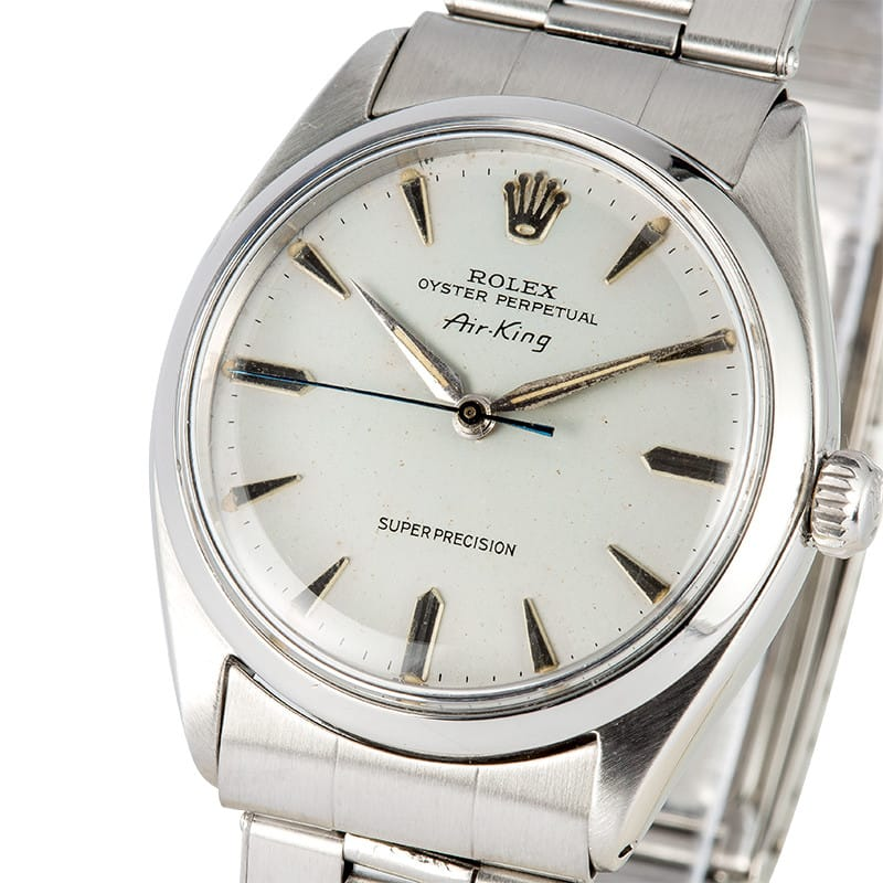 0405bfce7007 Rolex Air King 5500 Stainless Steel Oyster