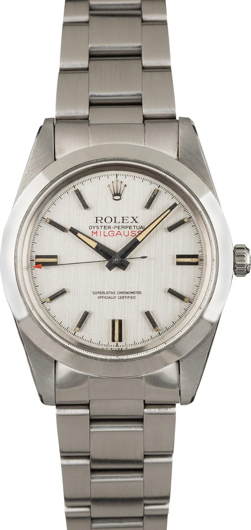 Vintage 1968 Rolex Milgauss 1019