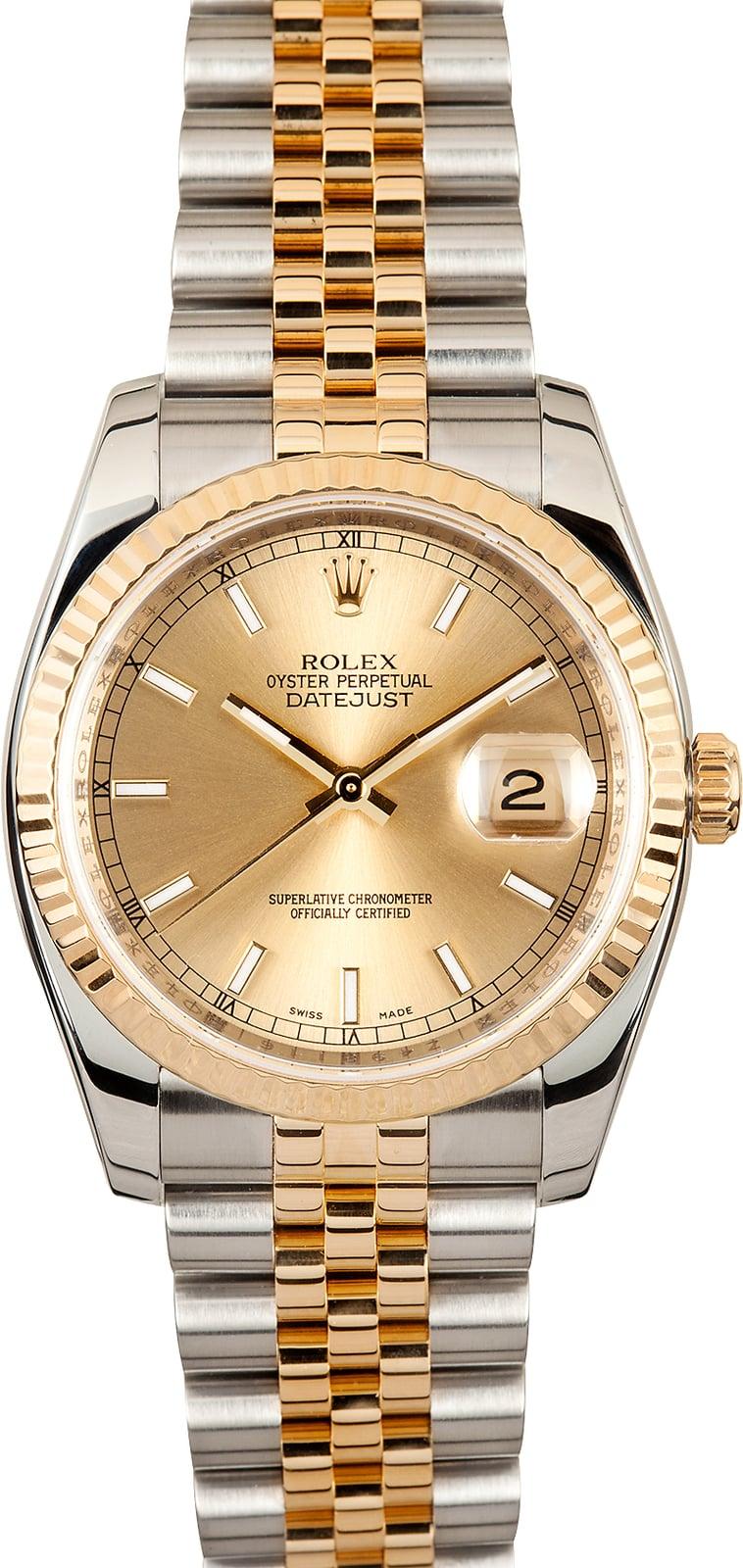 rolex datejust 116233 jubilee bracelet. Black Bedroom Furniture Sets. Home Design Ideas