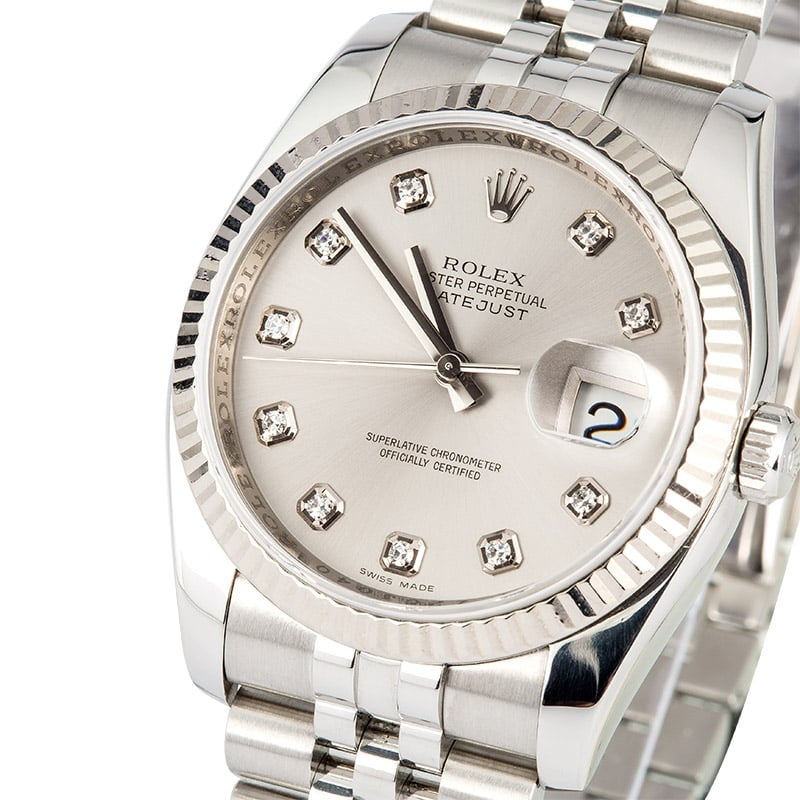 silver rolex datejust lady dial white chest jubilee gold pearlmaster diamond watch