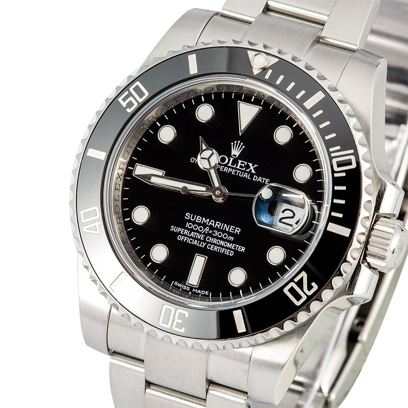 Buy Used Rolex 116610ln Bob S Watches Sku 110900
