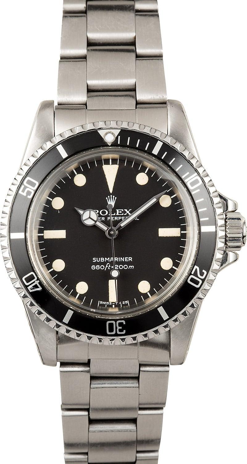 Rolex 5512 Submariner - Buy Vintage Rolex Submariner at ...  Vintage Rolex Submariner