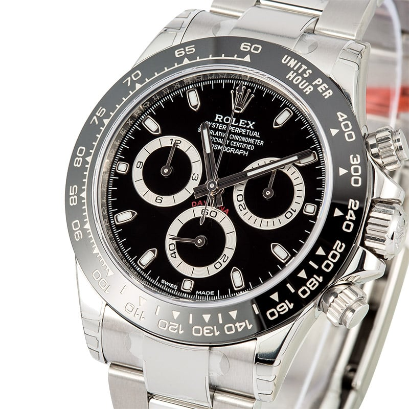 rolex daytona 116500 unworn with factory stickers. Black Bedroom Furniture Sets. Home Design Ideas