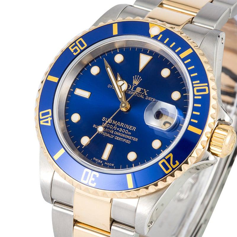 Submariner Rolex Blue Dial