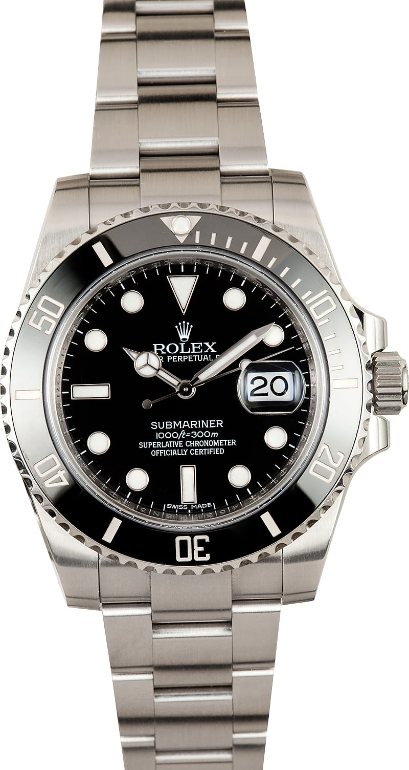 rolex oyster perpetual submariner 116610 dive watch. Black Bedroom Furniture Sets. Home Design Ideas