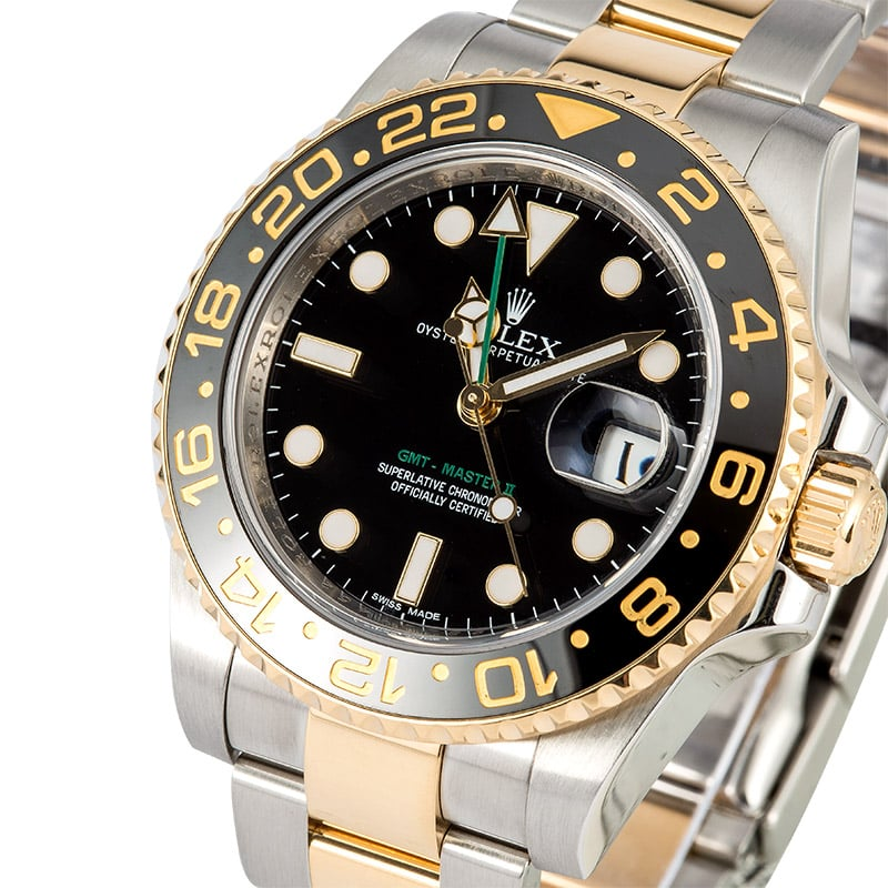 2019 year look- Master gmt rolex ii two tone