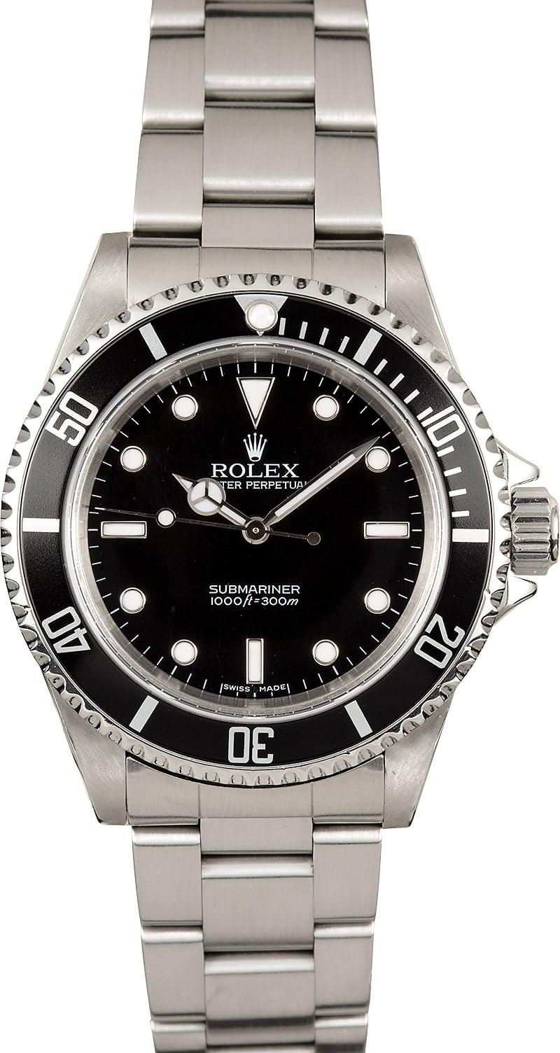 Rolex Submariner Mens Watch 14060m
