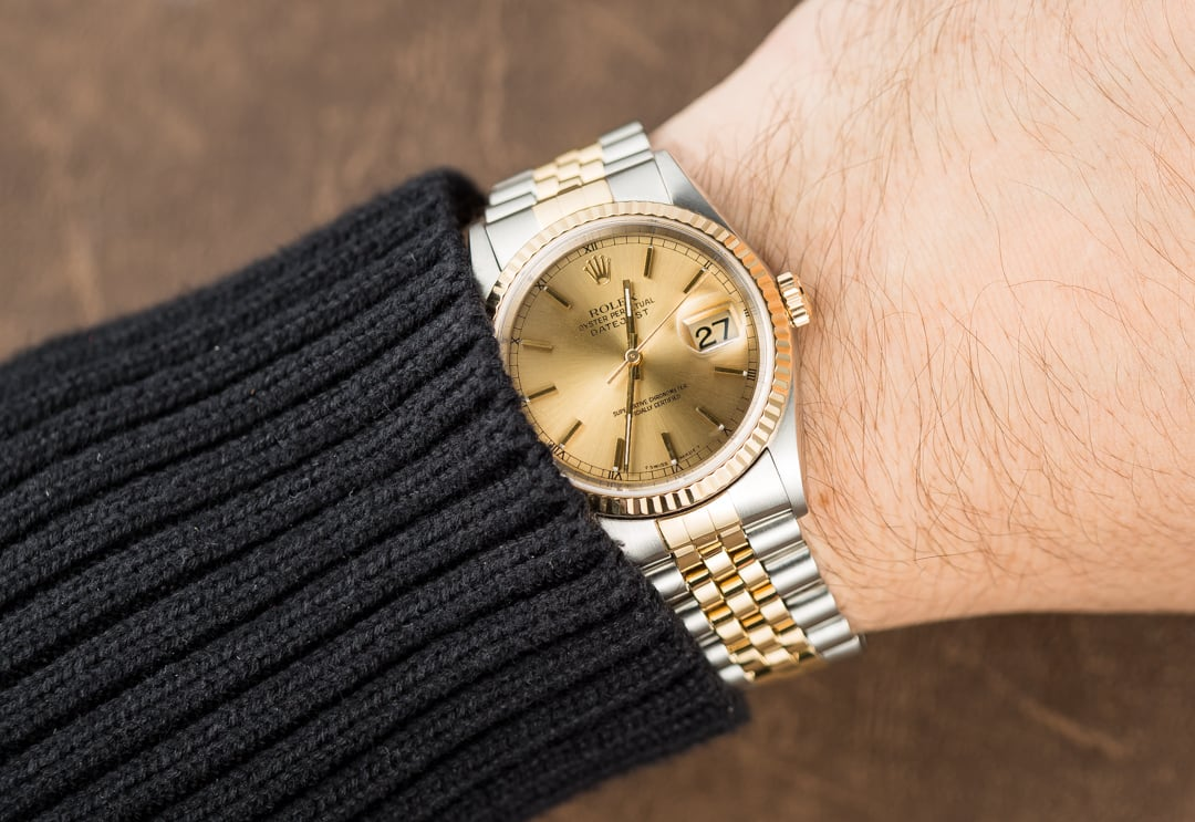 Rolex Two,Tone 36MM Datejust 16233