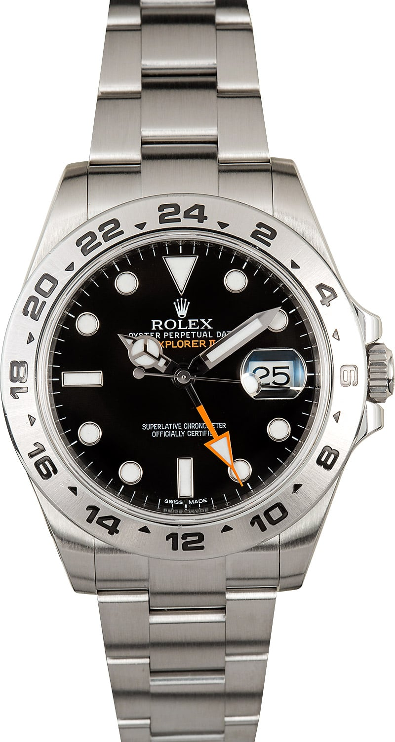 Rolex Explorer II 216570 42mm - Ships Free, no Sales Tax