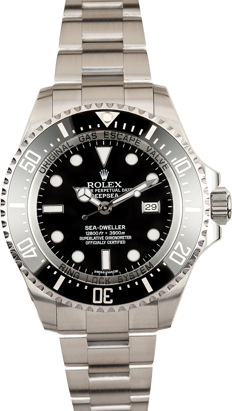3f8adaab187 Rolex Deep Sea Dweller Ceramic Bezel - Great Value at Bob's Watches