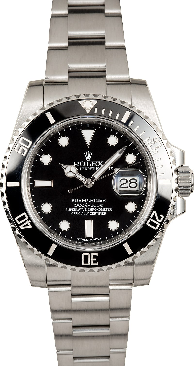 submariner rolex model 116610 ceramic stainless. Black Bedroom Furniture Sets. Home Design Ideas