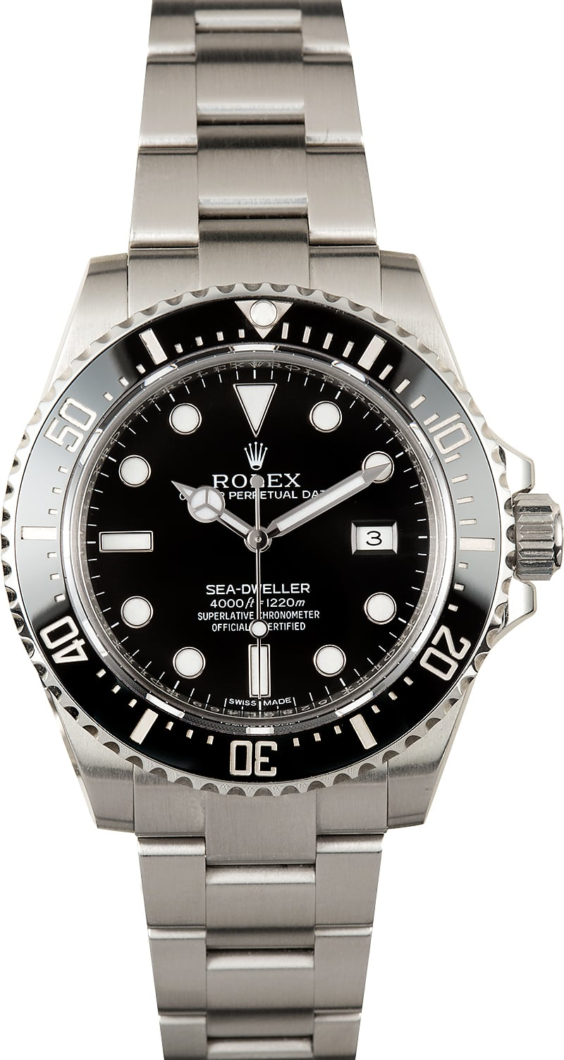 Rolex sea dweller 116600 ceramic for Rolex sea wweller