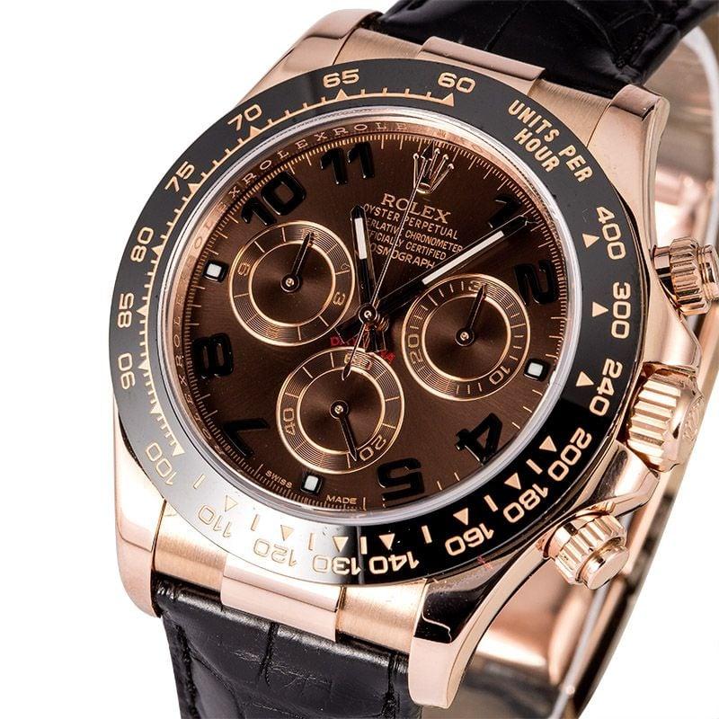 Rolex Daytona Rose Gold Chocolate Dial