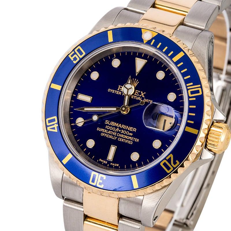 Rolex Submariner Mens Watch 16613