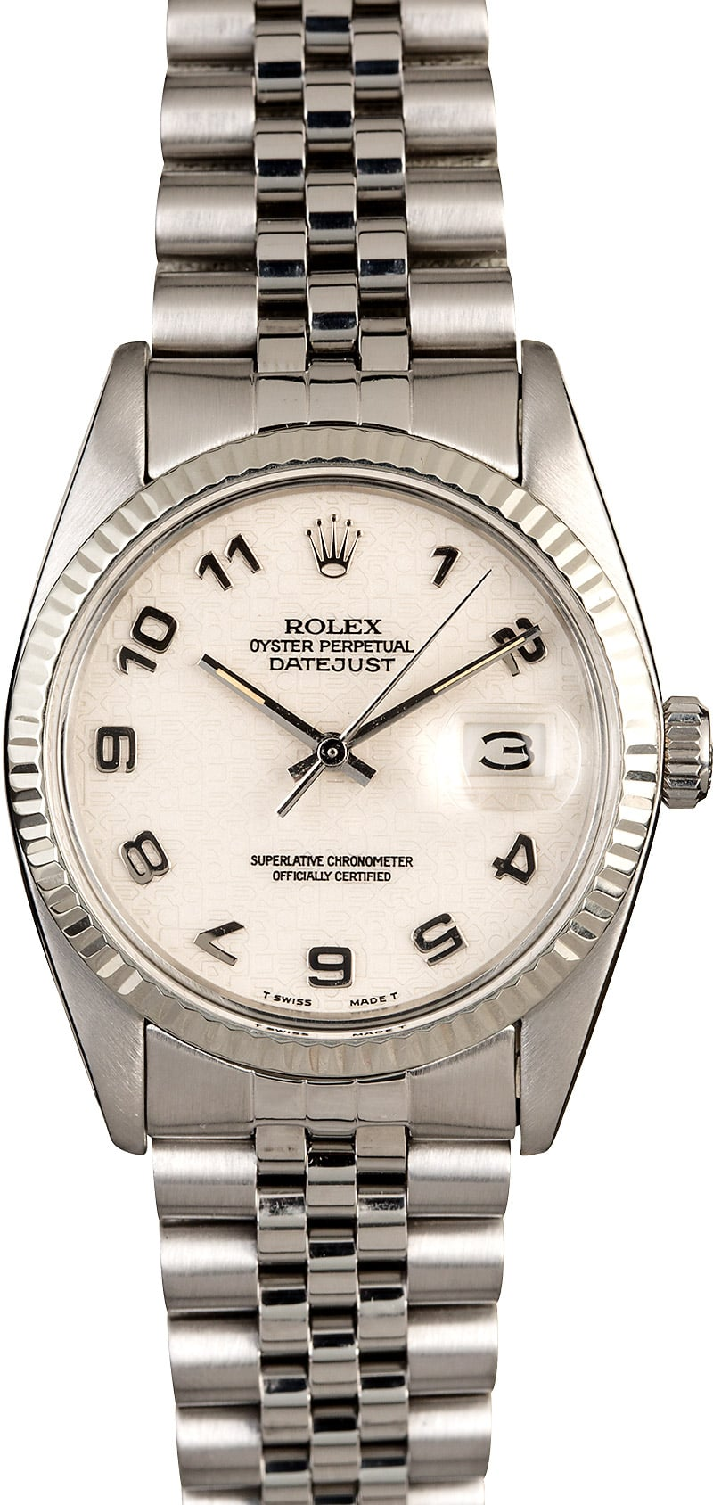 rolex oyster perpetual datejust stainless steel 16014. Black Bedroom Furniture Sets. Home Design Ideas