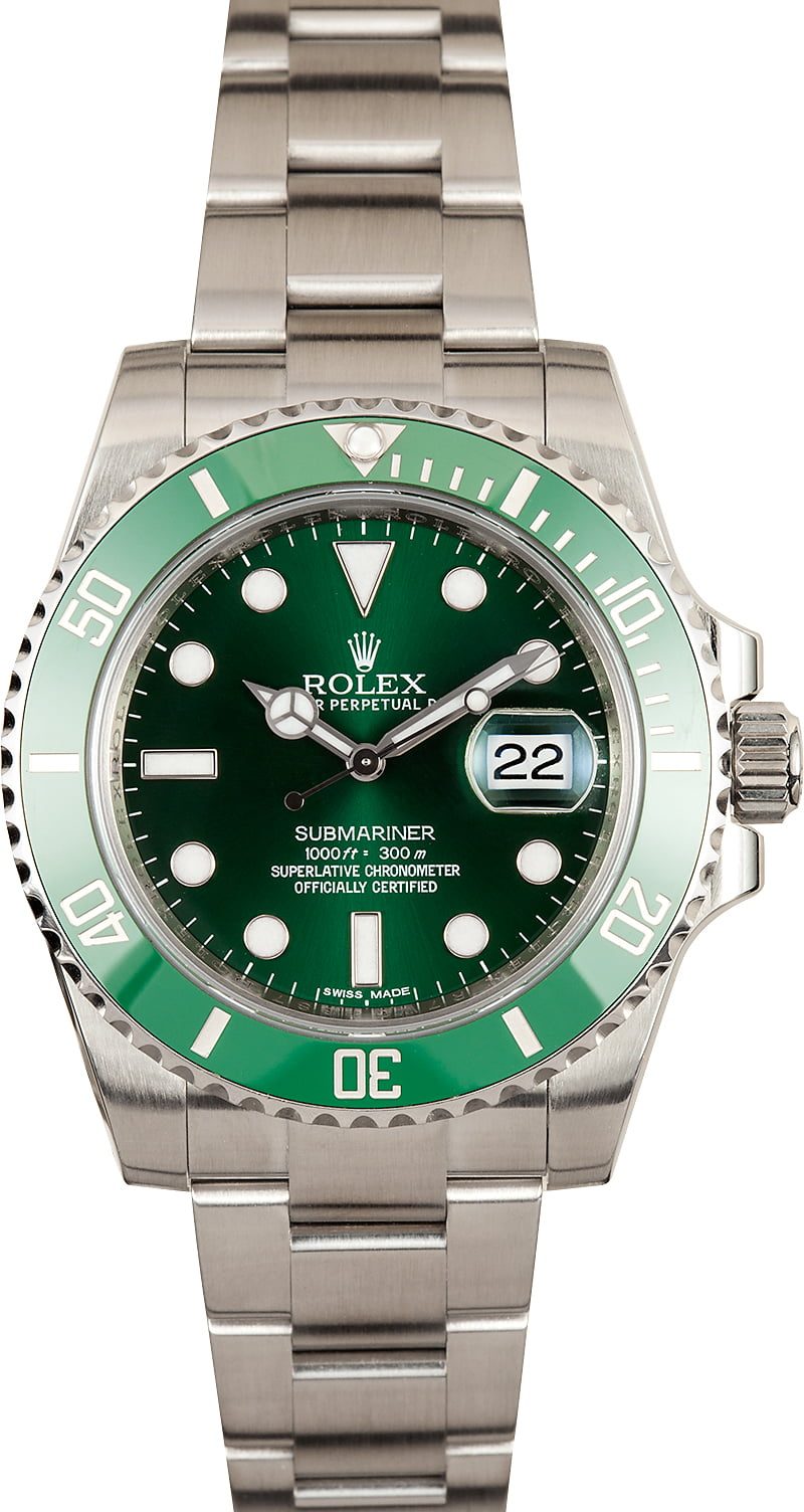 rolex submariner green dial men 39 s watch 116610lv low prices. Black Bedroom Furniture Sets. Home Design Ideas