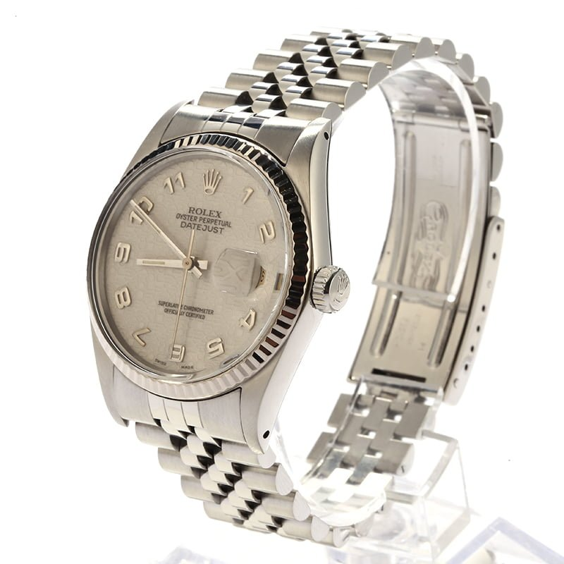 731b65f2533 Rolex Oyster Perpetual DateJust Stainless Steel 16014
