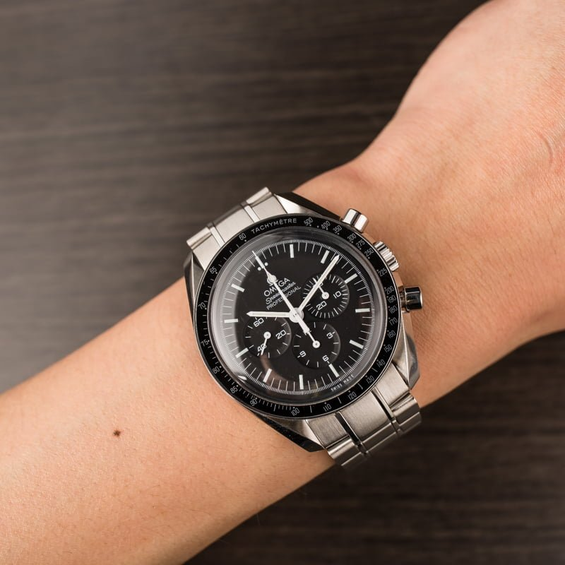 Preowned Omega Speedmaster Moonwatch