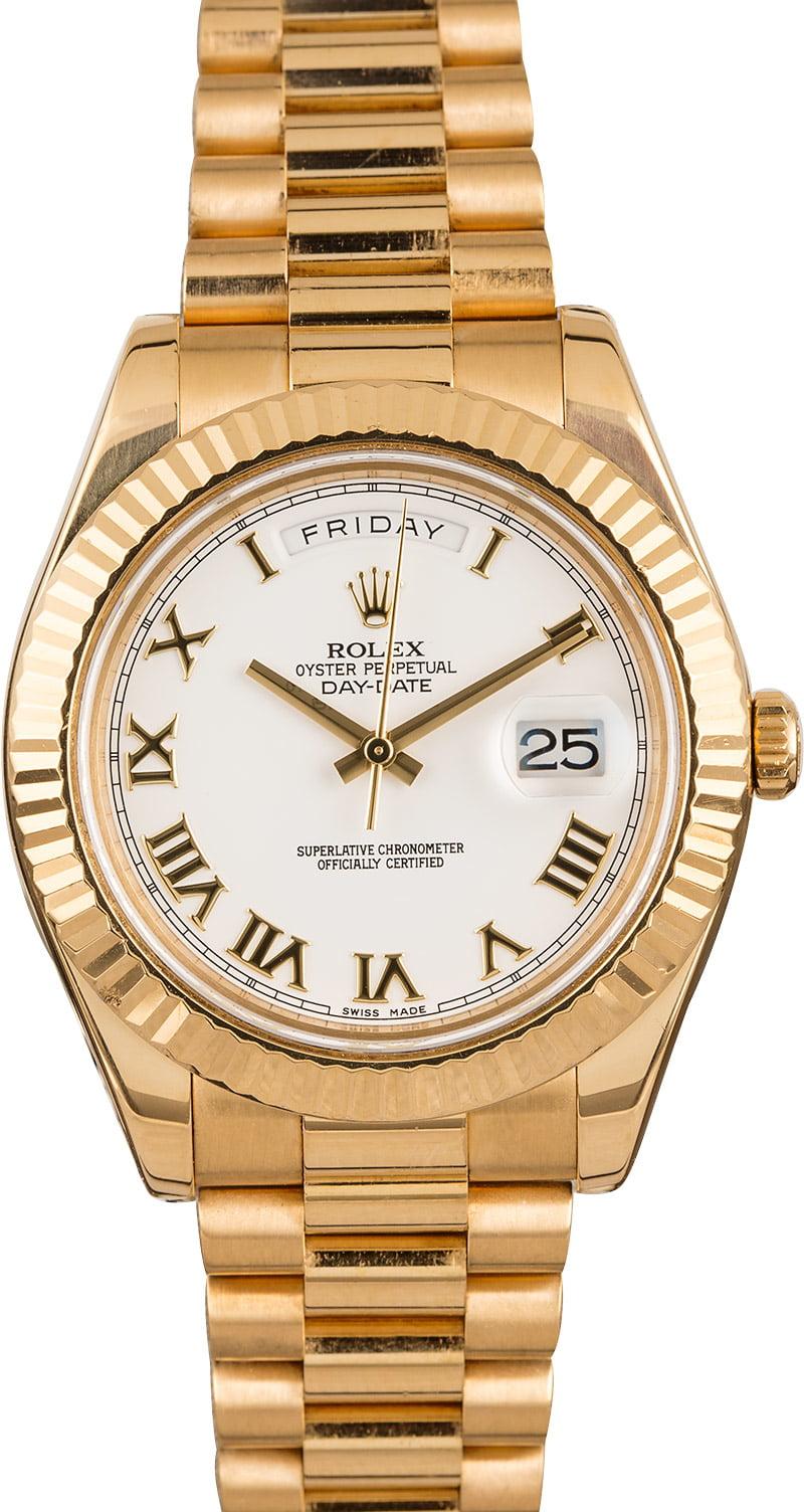 41MM Rolex Day,Date President 218238