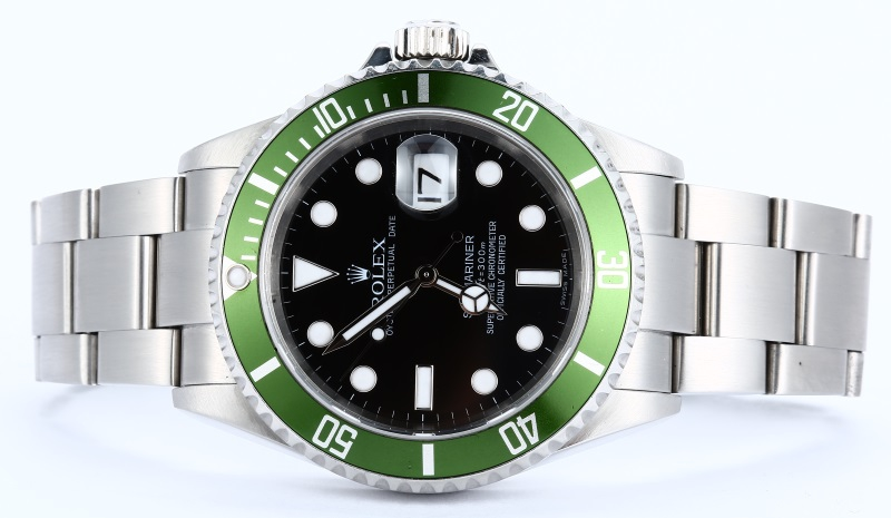 Rolex Submariner Green And Black