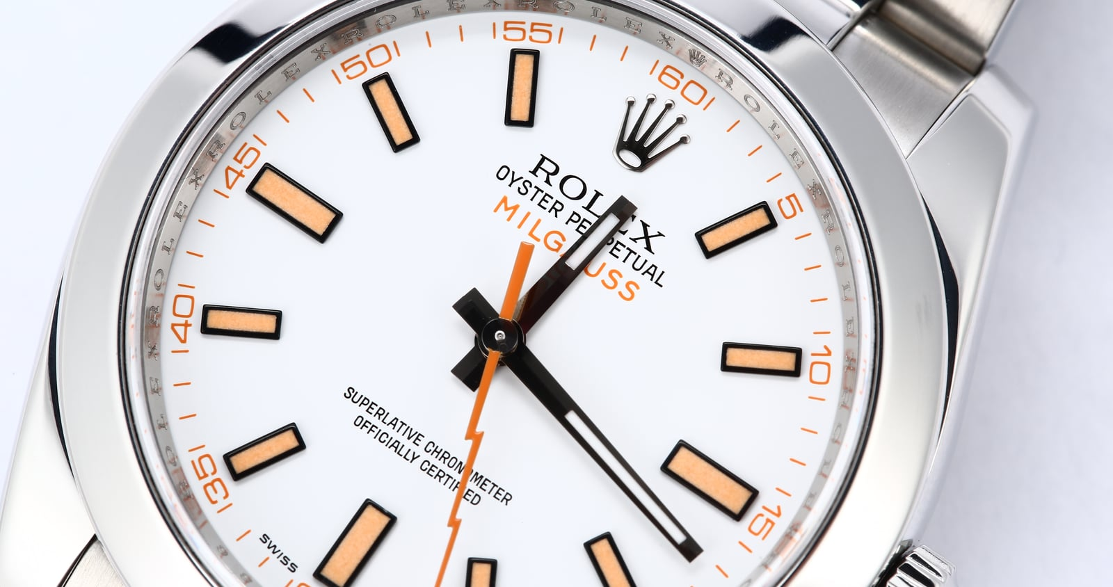Rolex milgauss 116400 white dial certified rolex milgauss 116400 white dial amipublicfo Images