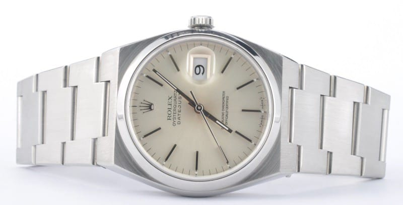 rolex oysterquarts datejust reference 1700a