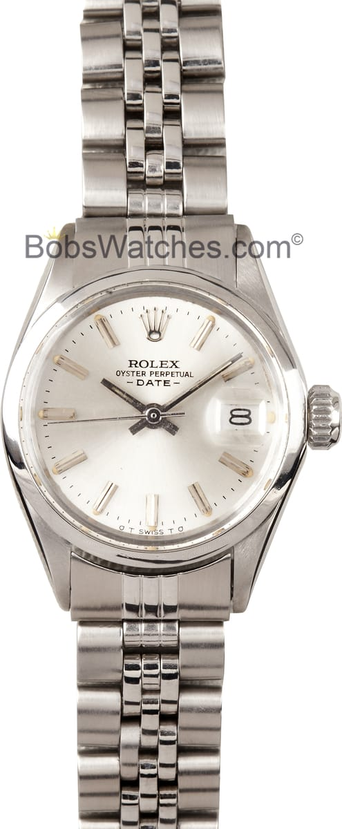 Vintage Ladies Rolex Oyster Silver Dial 6516 - Certified 100% 0a2d1daf4e