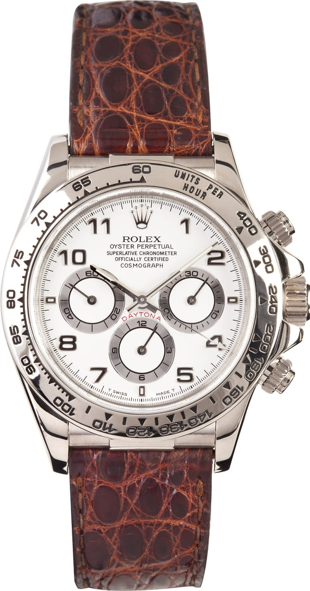 rolex daytona leather band 16519 for sale at bobs watches