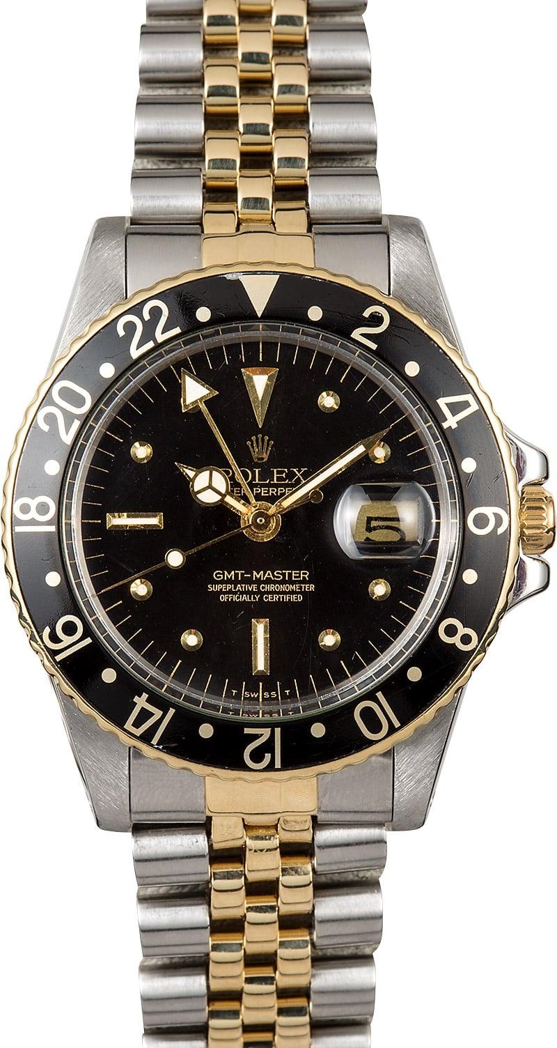 Gmt master 1675 vintage rolex for Rolex gmt master