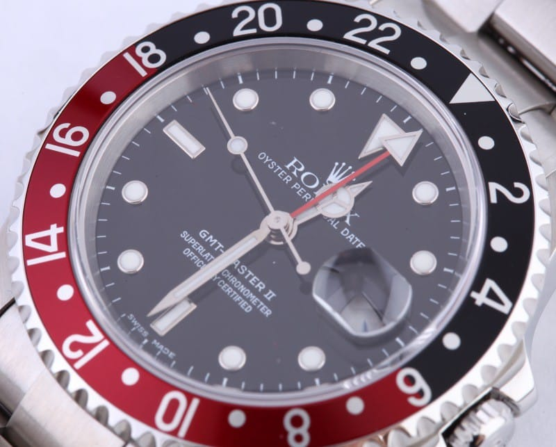 rolex 16710 dial and bezel
