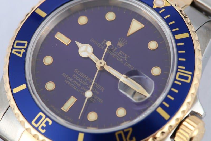 bezel & dial rolex submariner 16803