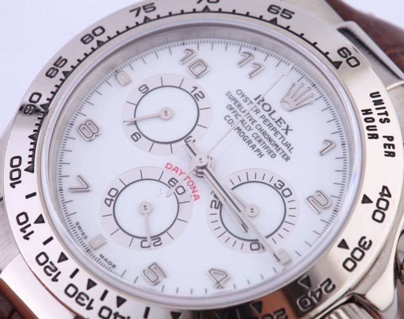 Rolex Daytona 18K White Gold 116519