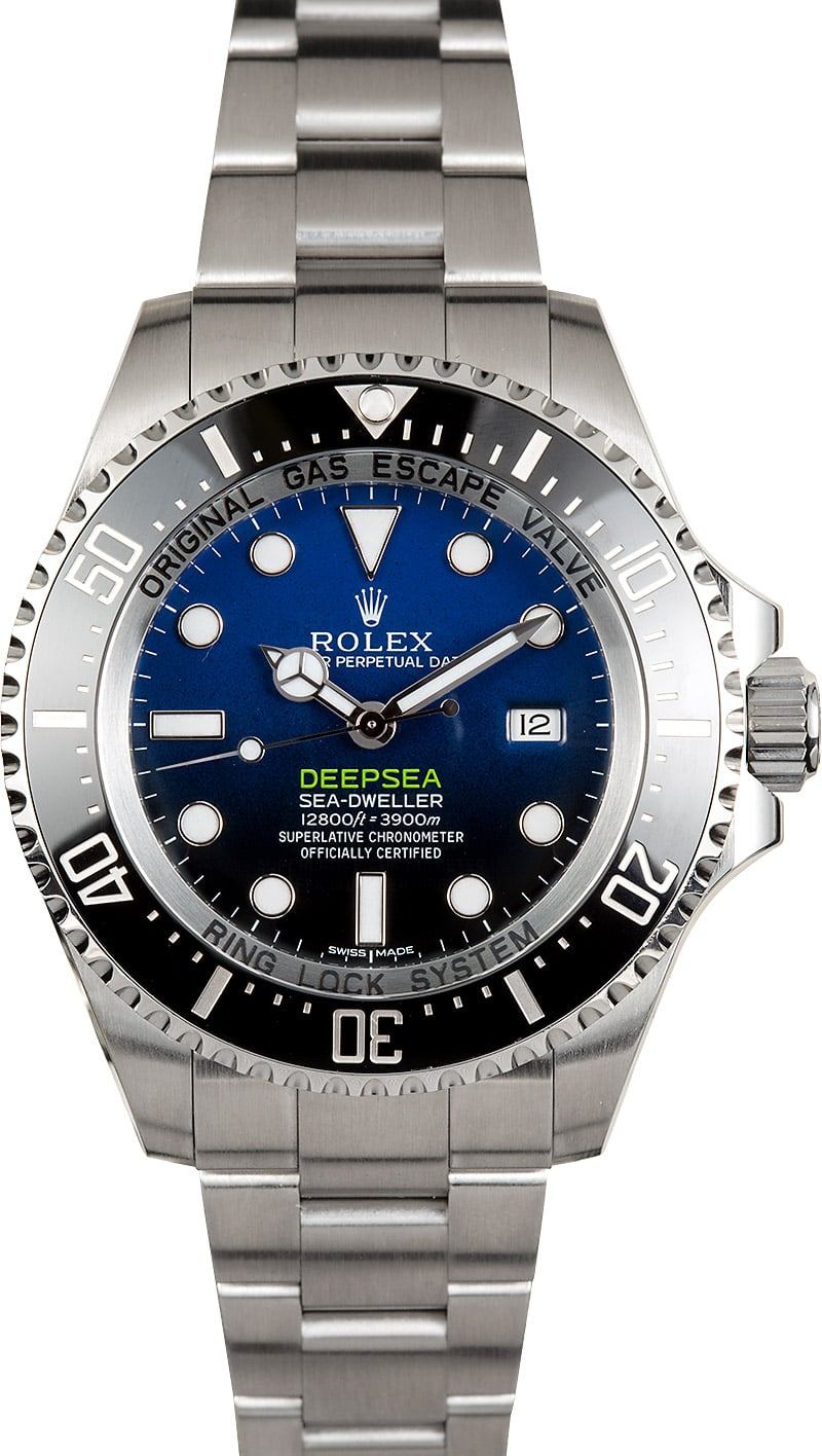 James Cameron Rolex Sea,Dweller Deepsea 116660