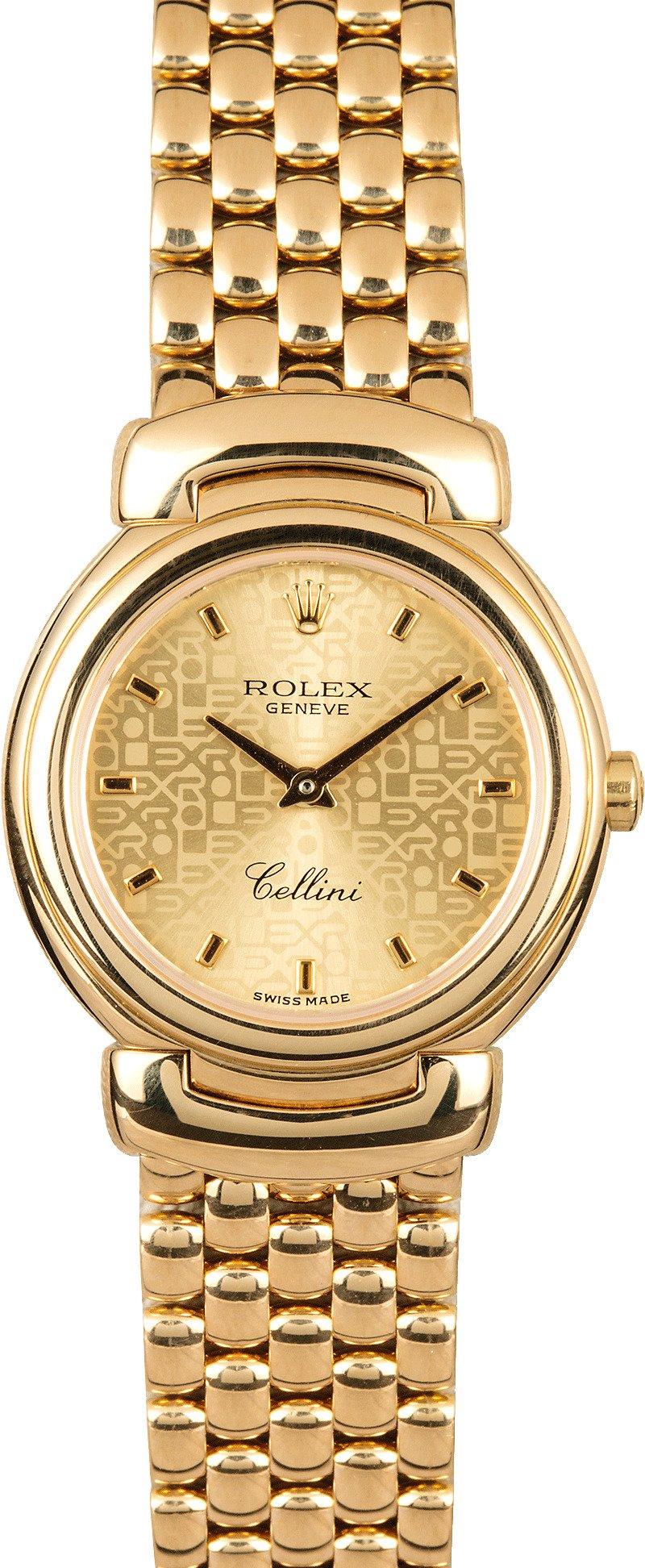 Ladies Rolex Cellini 6621/8 Gold