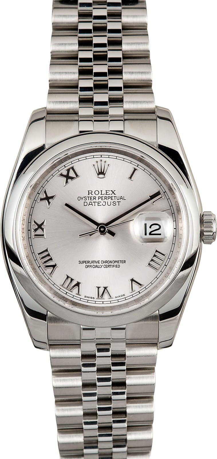 Used Mens Rolex >> Rolex Datejust Stainless 116200