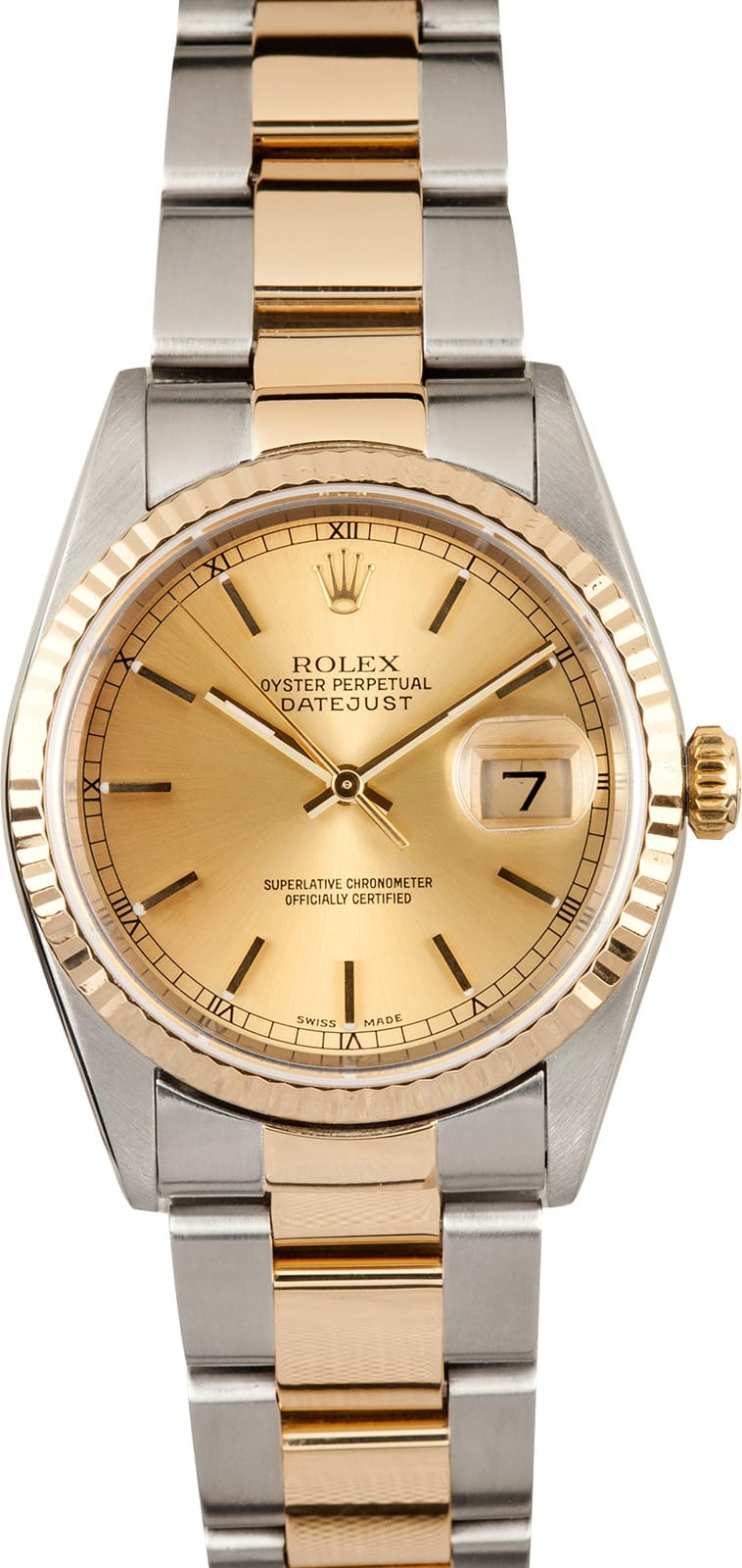 Used Rolex Submariner >> Rolex Datejust Two Tone 16233