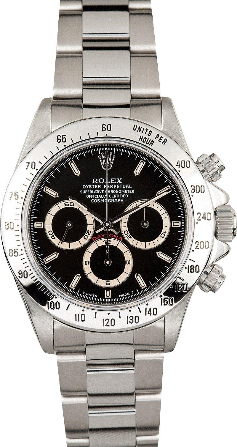 Used Rolex Submariner >> Rolex Daytona Black Dial 16520