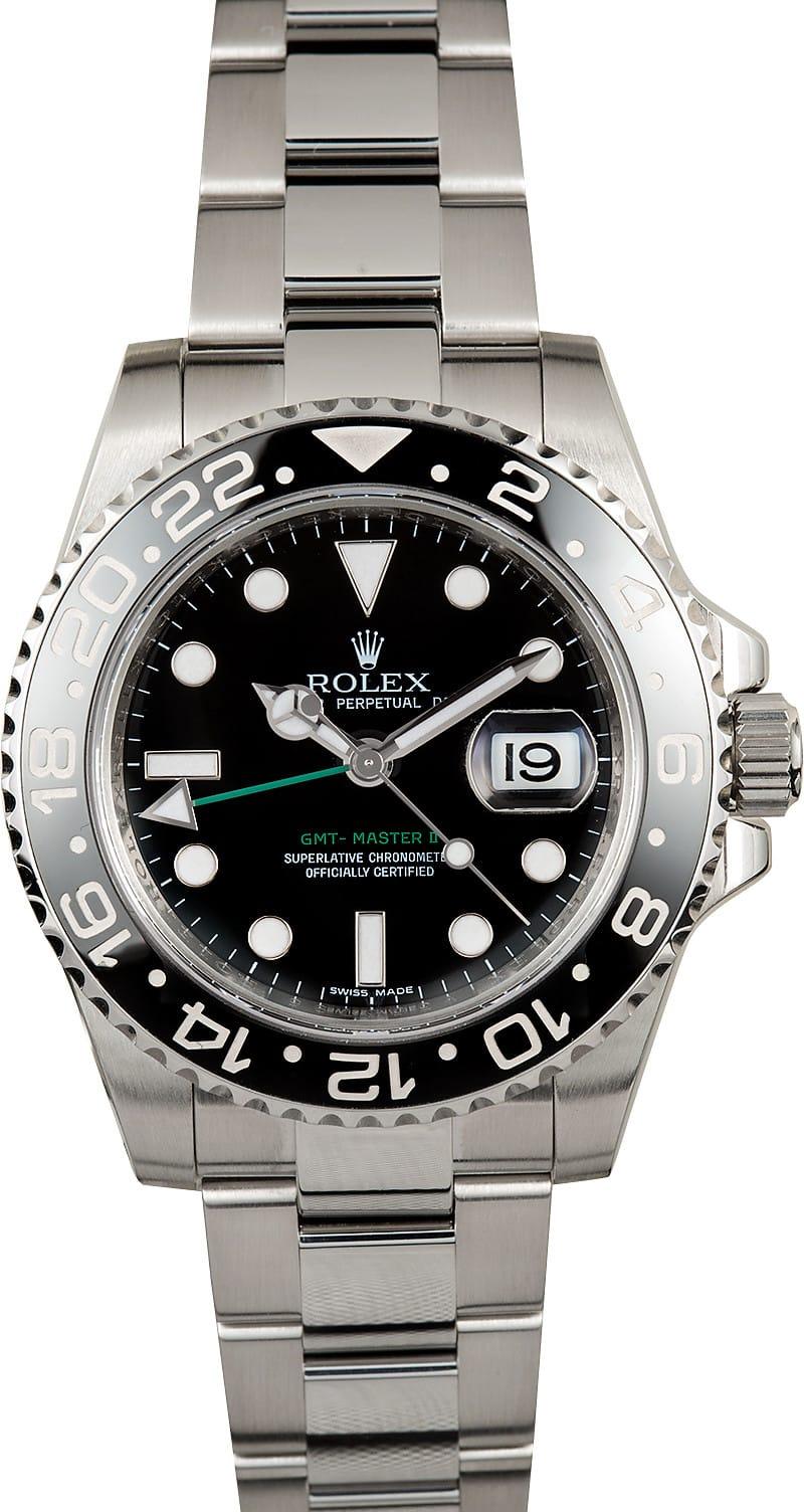 Rolex gmt master ii 116710 green hand for Rolex gmt master