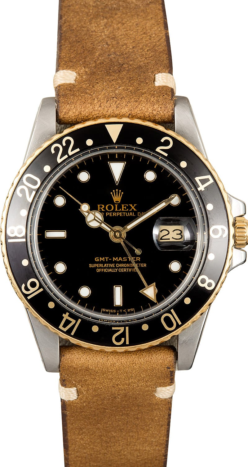Bell And Ross Watch >> Rolex GMT-Master 16753