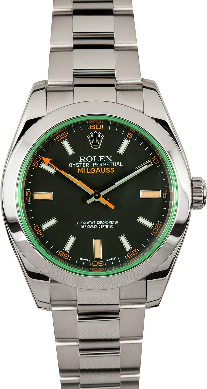 Rolex milgauss 116400g for Rolex milgauss