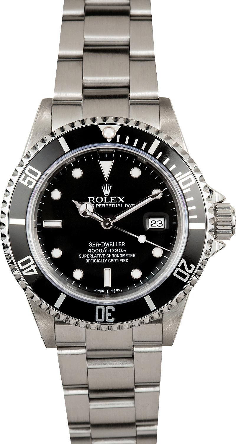 Rolex sea dweller 16600 black for Rolex sea wweller