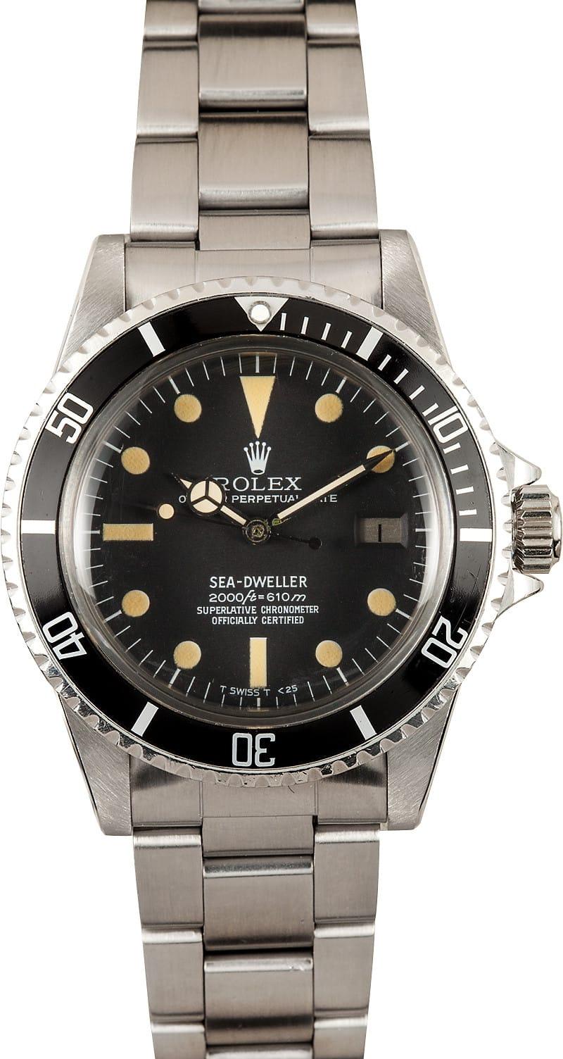 Vintage Rolex 1665 Sea Dweller