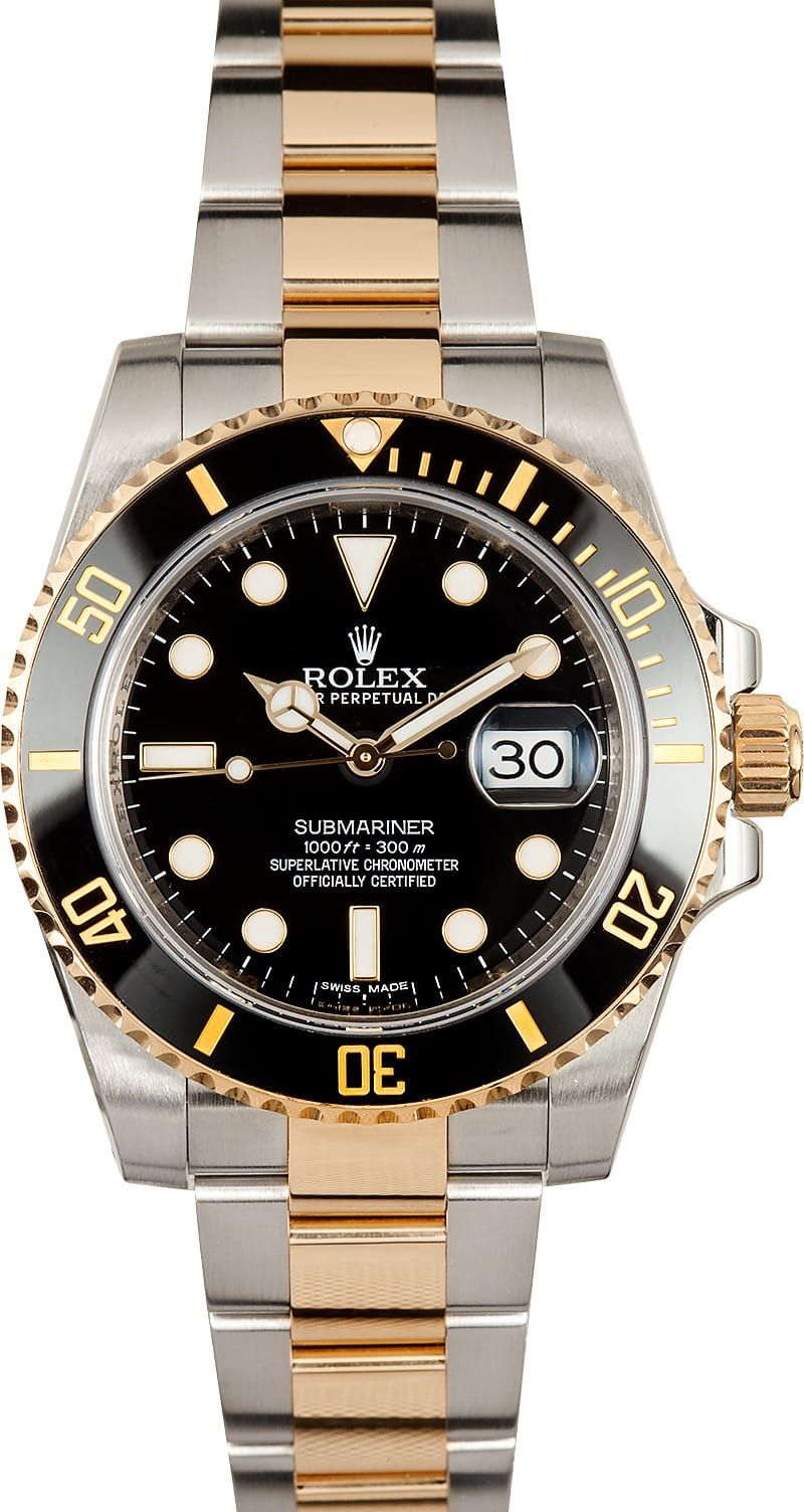 Rolex Submariner 116613 Ceramic Bezel
