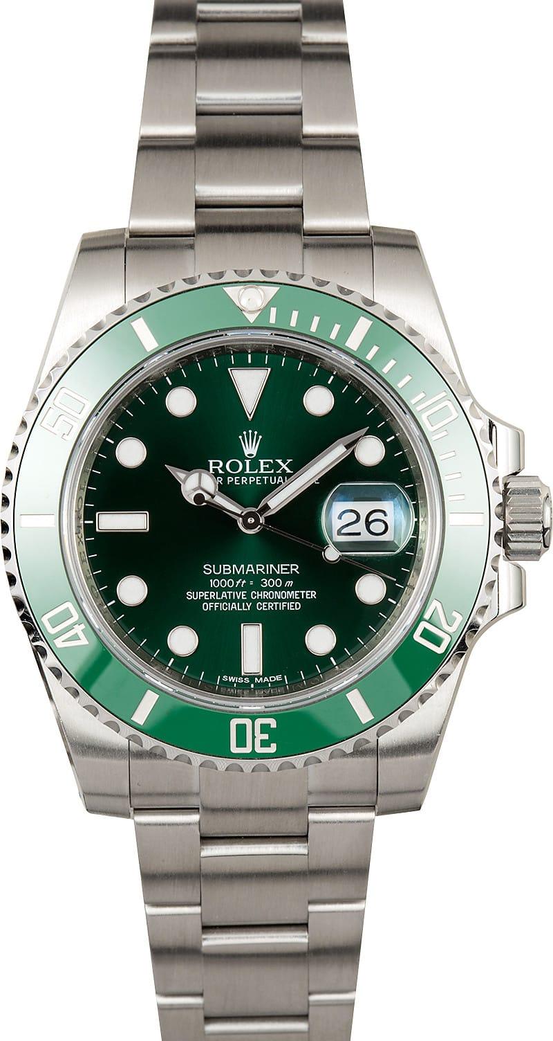 Rolex Submariner 116610V Green